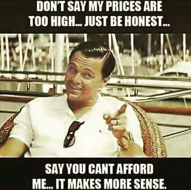 För dyr?